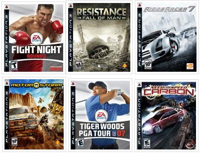 PS3 Launch Titles