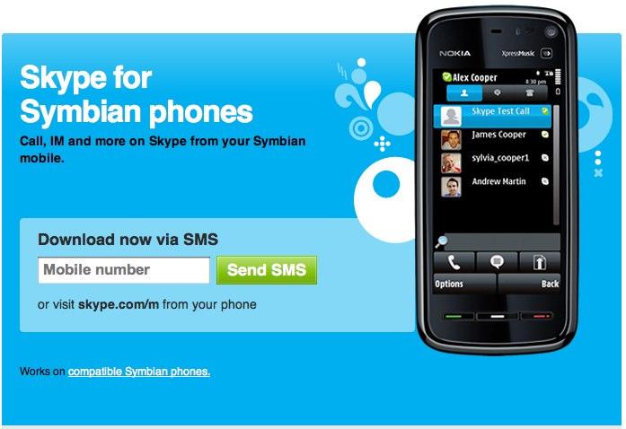 Skype for Symbian