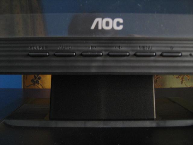 AOC OSD Buttons